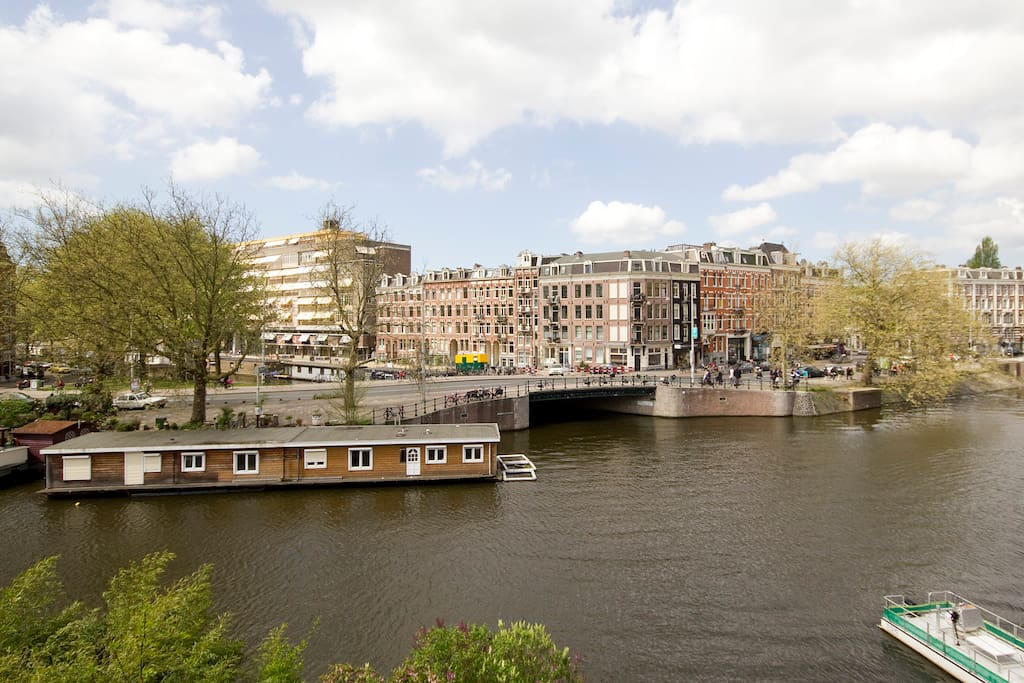 view on the canal