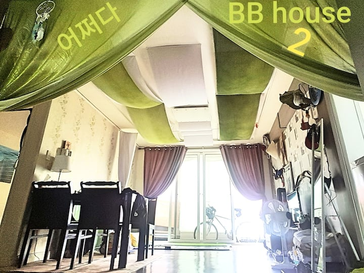 BBhouse강릉/2인1실/Private room/backpackers
