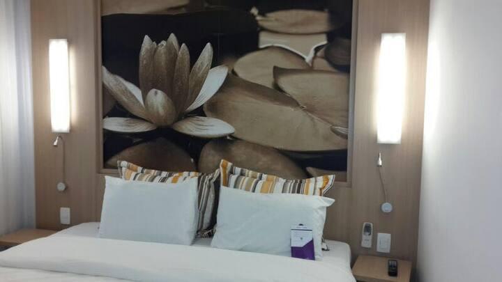 Flat 1206 Hotel Mercure 12º andar - Manaus- AM