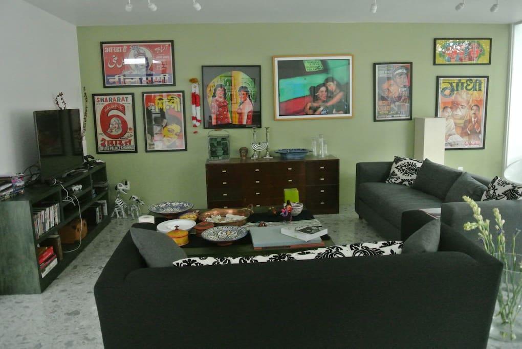 living room area... of open plan ground floor