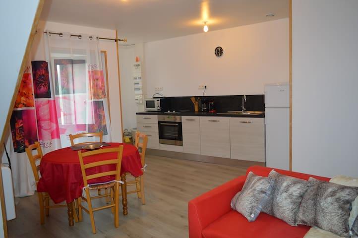 Appartement F2 57m² adapté handicapés/séniors - Isches - Pis