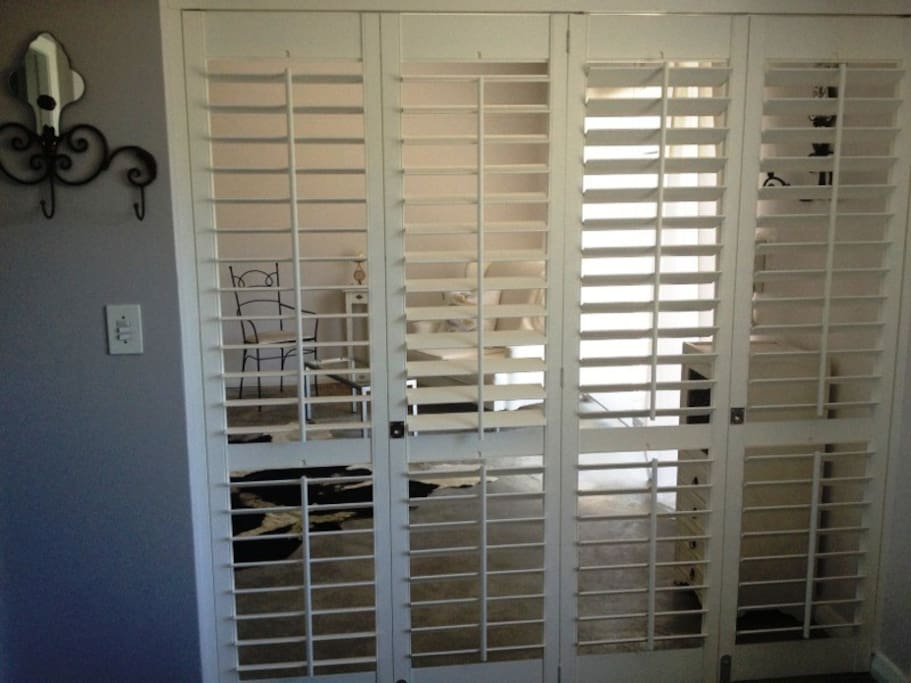 Room Devider by American Shutters.