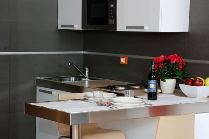 Uso cucina al costo di 15€ per soggiorno/Kitchenette has an extracharge of 15€ per stay