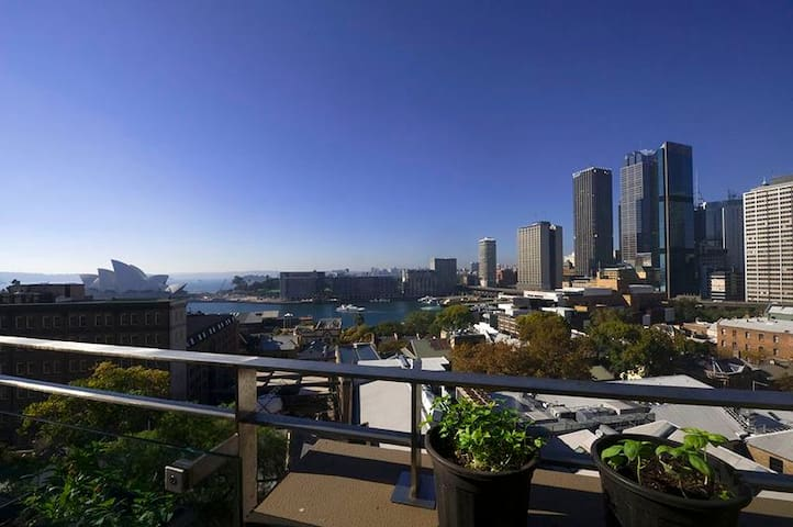 Opera and Harbour views Penthouse   - The Rocks - Flat