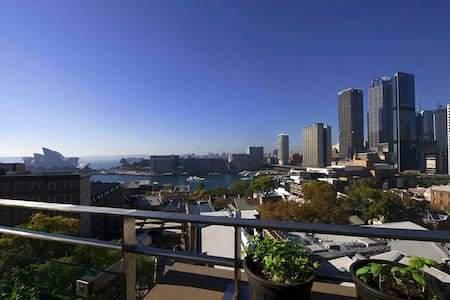 Opera and Harbour views Penthouse   - The Rocks