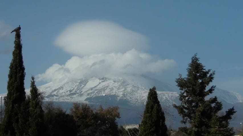 appartment on Etna - see, air, fire - Tremestieri Etneo - Flat