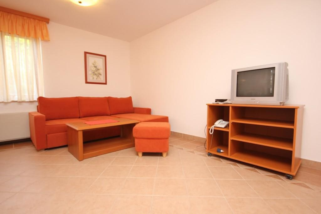 Living room, Surface: 17 m²