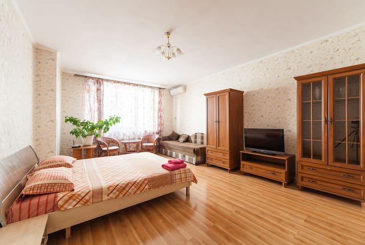 Уютная квартира возле МВЦ, м. Левобережная