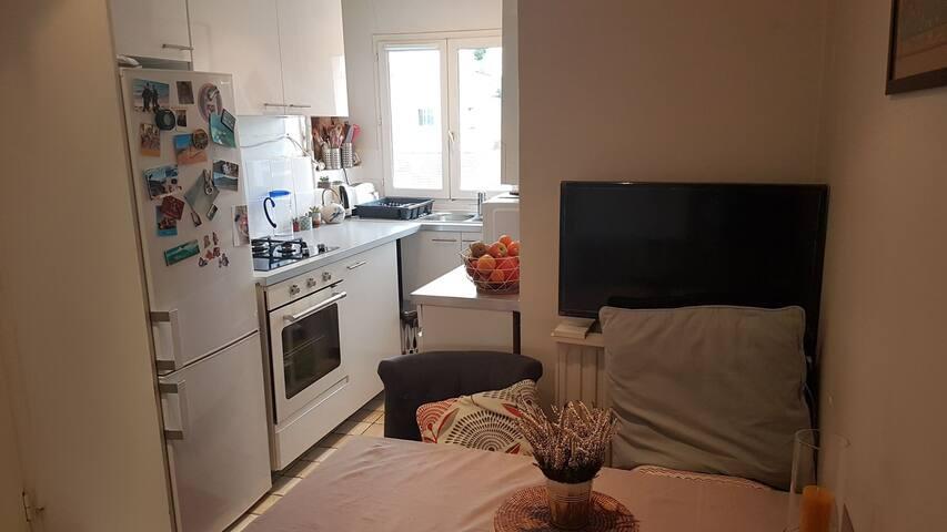 Appartement cosy et lumineux Paris 6