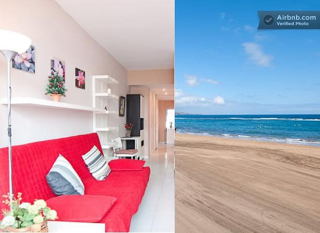 Stunning apart right on the beach - Palmas de Gran Canaria - Byt