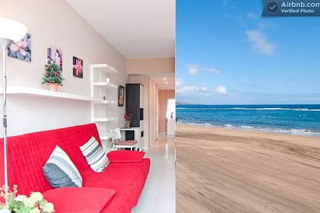 Stunning apart right on the beach - Palmas de Gran Canaria - Apartament