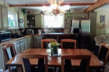 Kitchen /Open Dining Room