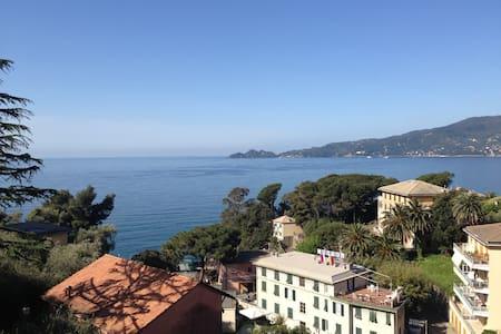 Zoagli overlooking Portofino Gulf  - Zoagli - Квартира