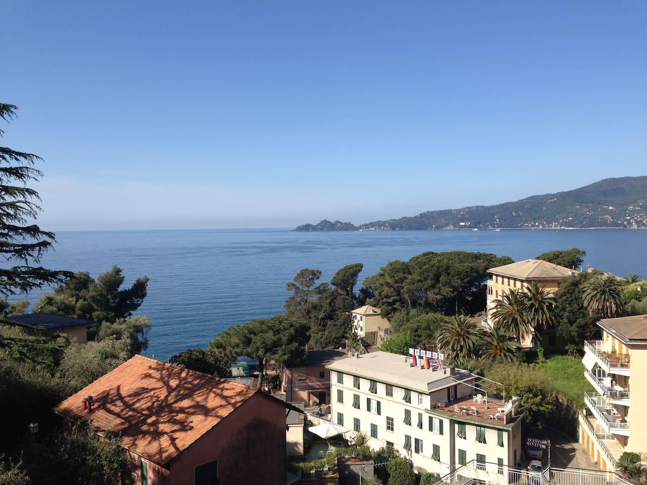 Splendida vista sul golfo di Portofino (Golfo del Tigullio)