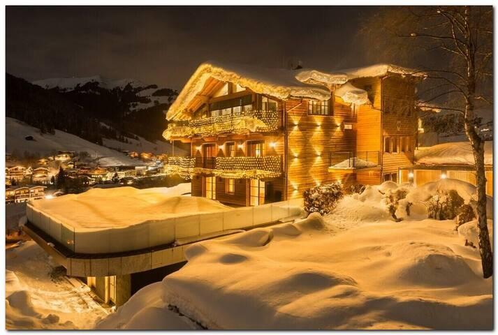 indoor pool 5 bedr - ski - winter