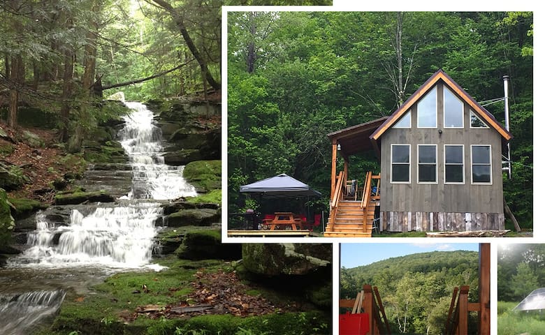 Mountainside Waterfall Retreat (as seen on HGTV)