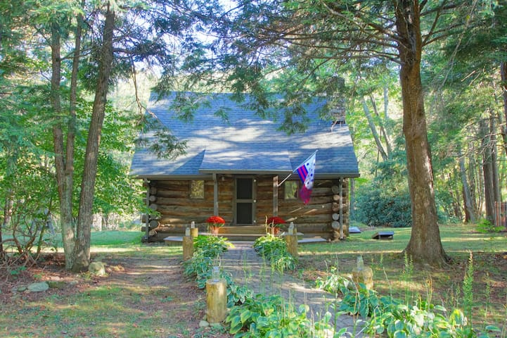 1848 log cabin/breakfast/s'mores Boone/Banner Elk.