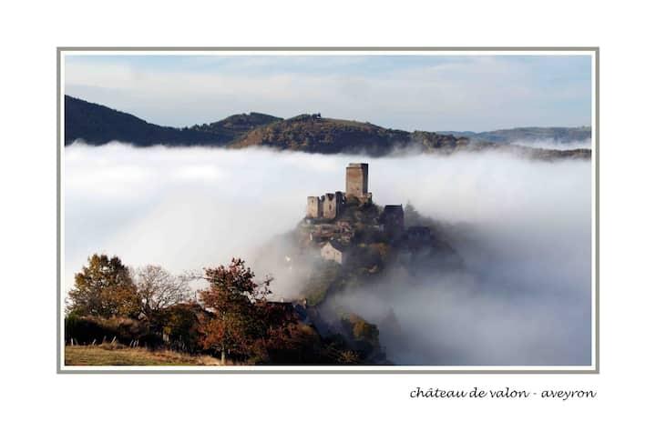 Gite Saba 4 people, Aveyron, France