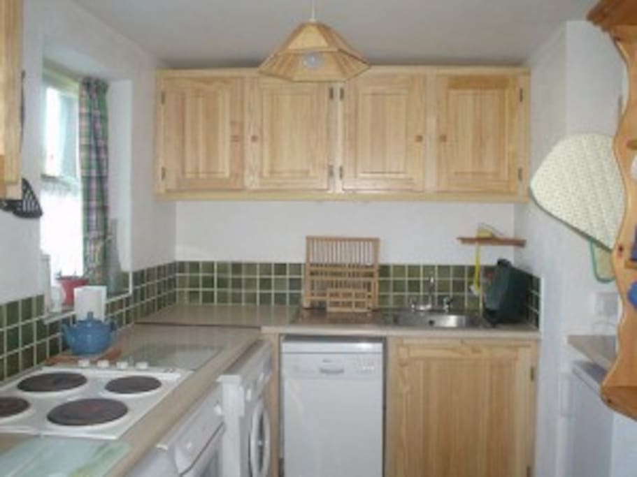 Compact well fitted kitchen, all modern facilities.