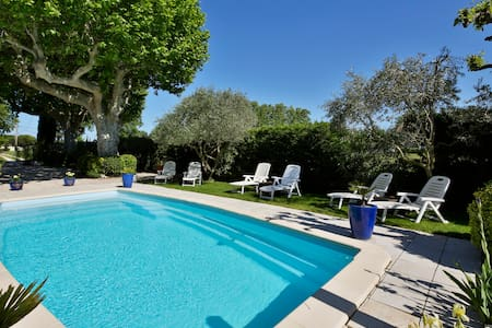 old Manor with pool in Provence(OL) - Cabannes - アパート