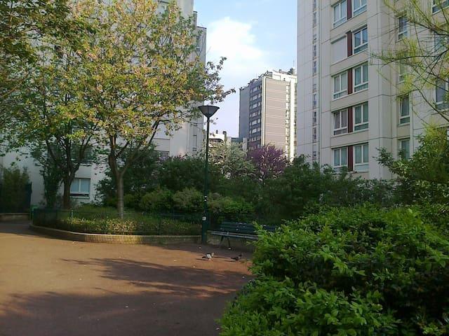 PARIS 14ème - Charming Room to rent - Paryż - Apartament