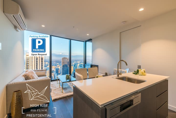 EQ Tower Luxury 2 Bedroom Skyline CBD Apartment