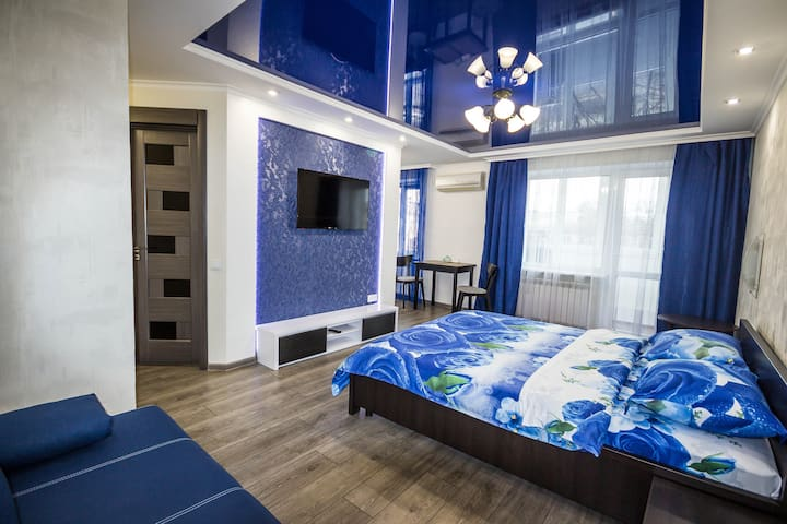 Sapphire Apartment Mariupol-квартира-студия. Центр