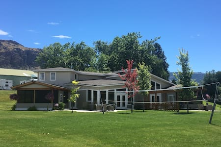 Beautiful Osoyoos Lakefront Duplex on one acre.