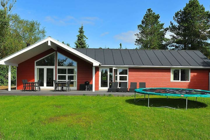 Luxurious Holiday Home in Oksbøl With Private Whirlpool