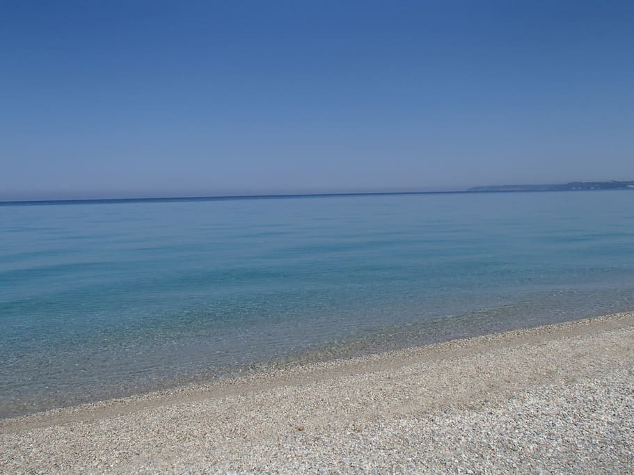 sea of posidi - 2 km from the appartment