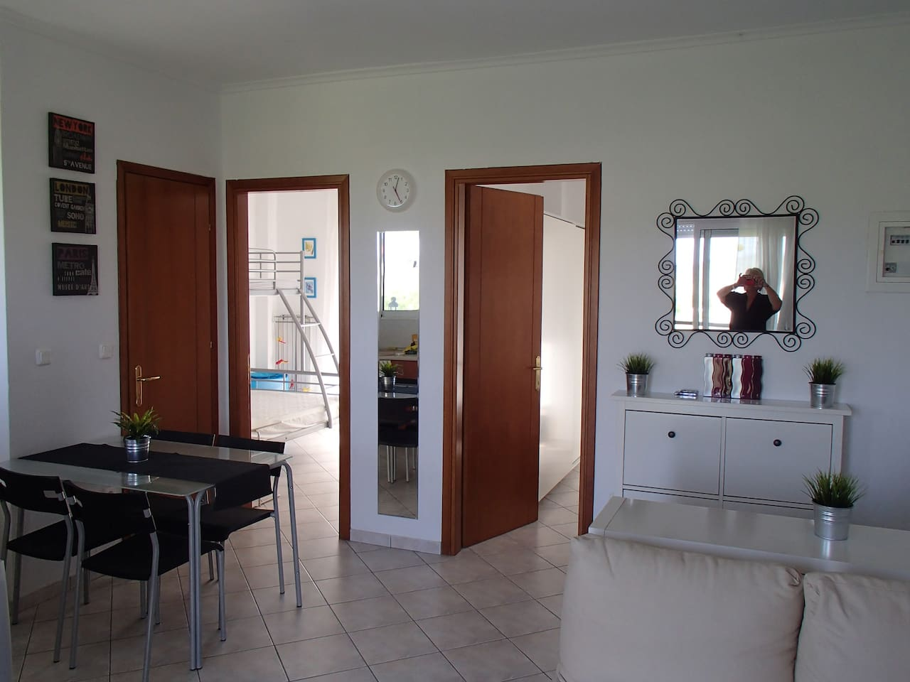 appartment with 2 bedroom for 5 persons