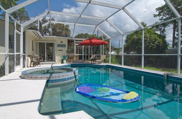 New listing. Treasure near beach with Private Pool