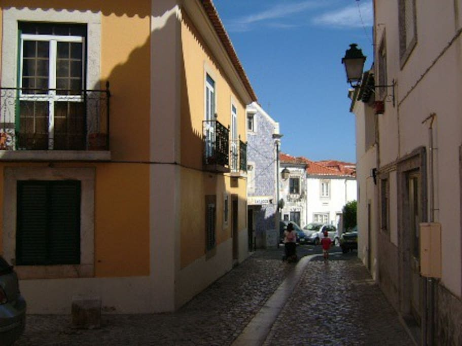 Vista da rua - Street view