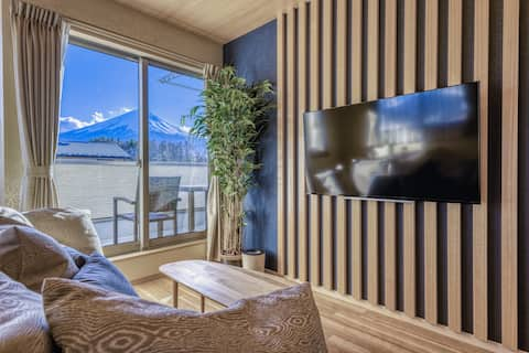 [MIYABI]Free pickup! Luxury Mt. Fuji view house