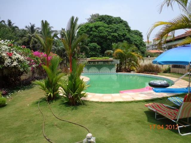 A lazy pool beckons you on a hot sunny day