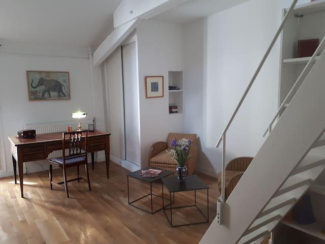 Studioduplex de charme Denfert Montparnasse.Calme.