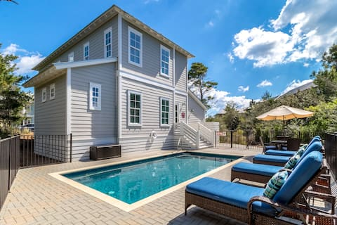 Our Blue Heaven - Private, Heated Pool Sleeps 10