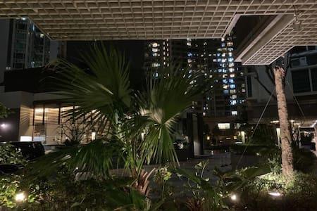 香港新界 中文大学对面海景房 小卧室短租