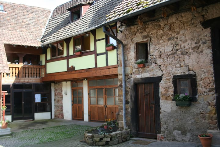 """Farmhouse """"Au Val du Patre""""  - Orschwihr - Huis"""