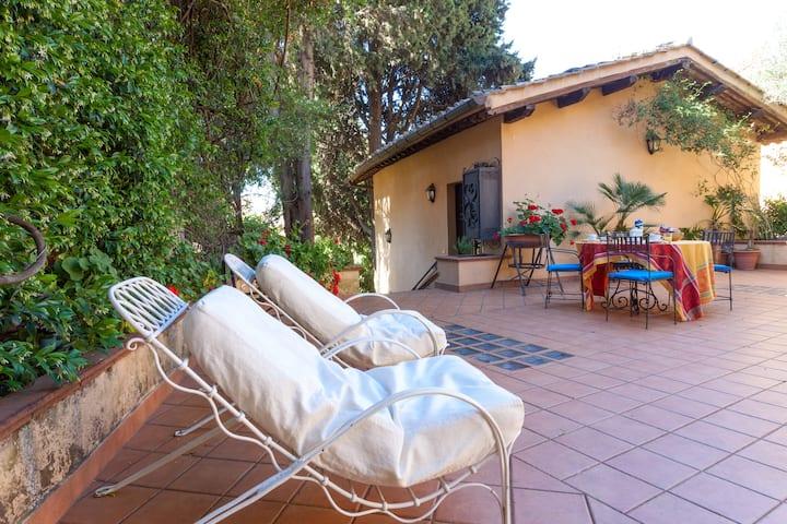 Cosy Home with Garden, Villa Belvedere, Vatican