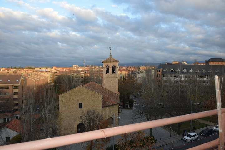The sky of Segovia