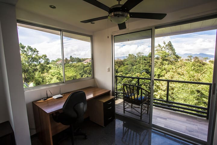 Office with breathtaking views