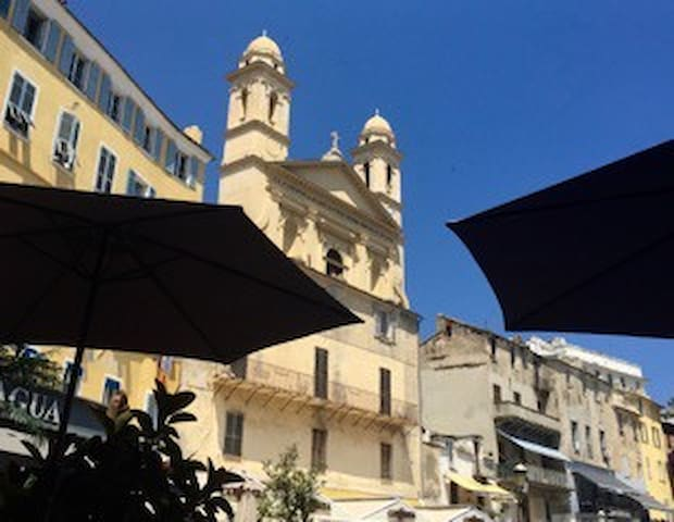 T3 centre ancien - Bastia - Apartamento