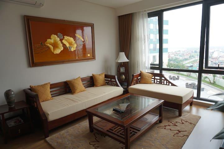 Spacious Two Bedroom Mipec Apartment in Hanoi 1