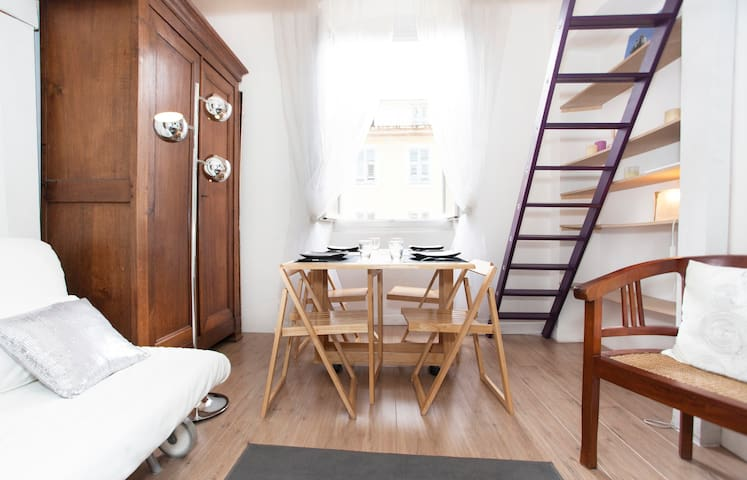Studio in center of town bastia - Bastia - Apartment