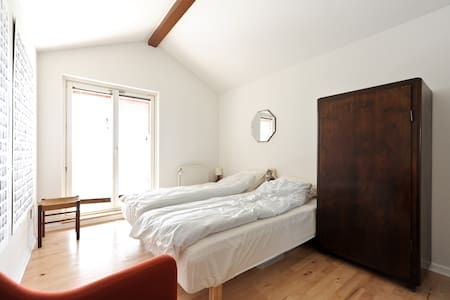 lovely room with balcony in Aarhus - Aarhus - Apartmen