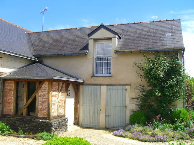 Belle chambre cosy bord de Loire - Saint-Mathurin-sur-Loire - Penzion (B&B)