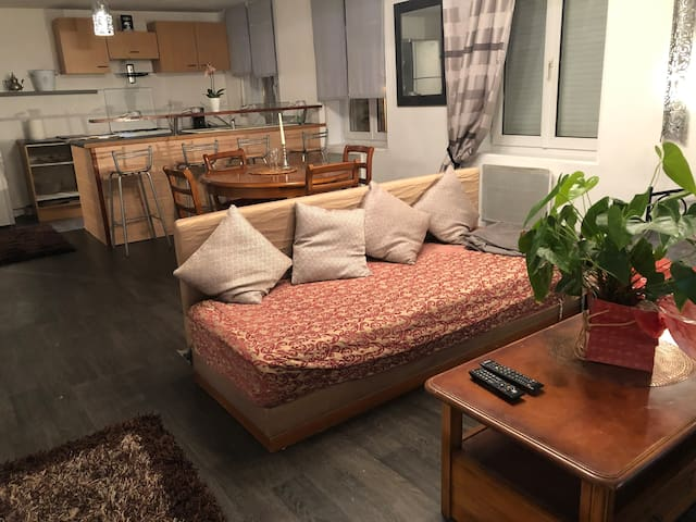 Appartement 1 chambre cosy entre ville et mer