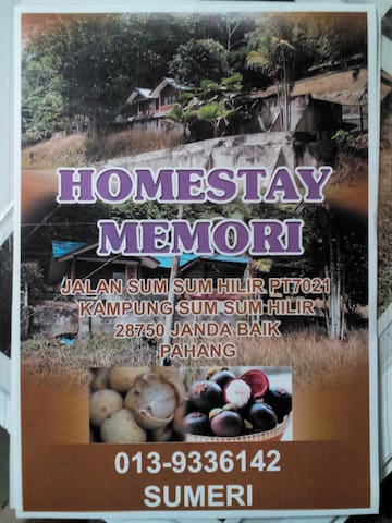 Homestay Memori, a place for families and friends - Bentong - House