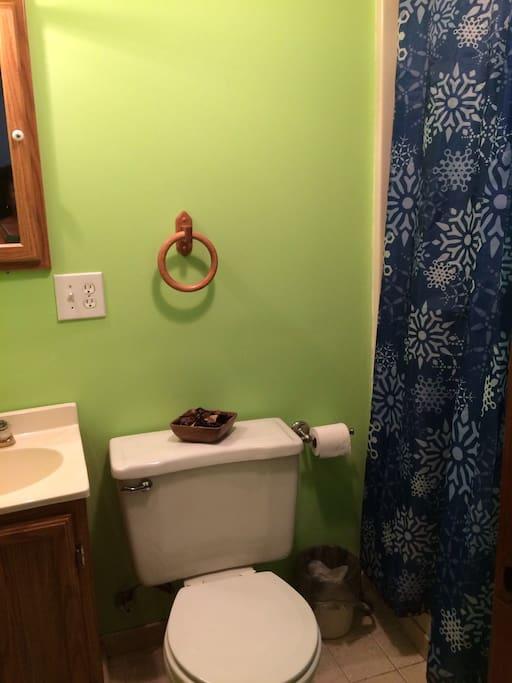 Bathroom, shower only